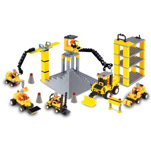 Blocks 555 pieces - construction set