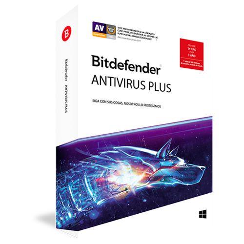Antivirus bitdefender valido 1 licencia