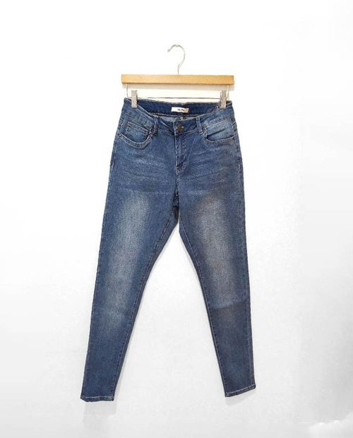 Jeans skinny light wash moda