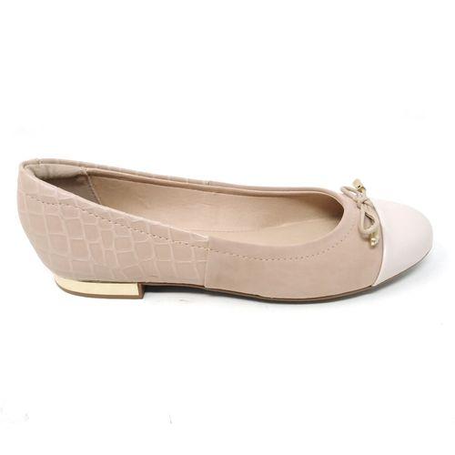Zapato beige flat
