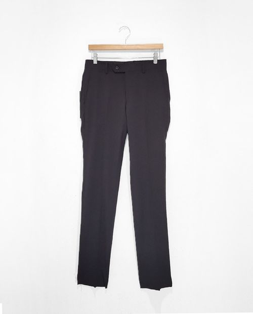 Pantalon suit separates negro