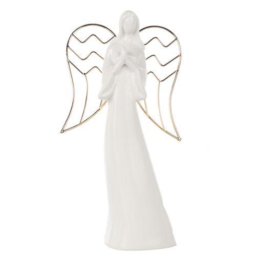 Adorno navideño Ángel blanco