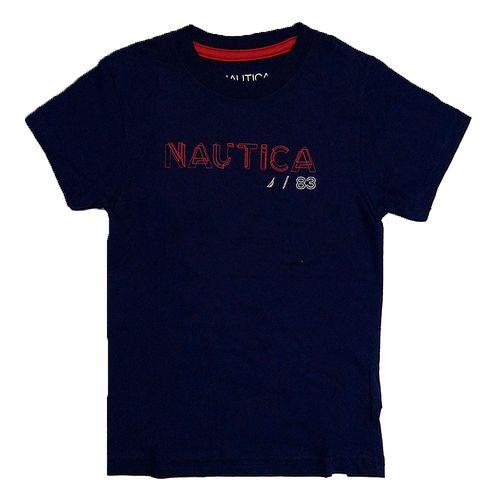 Camiseta  m/c de niño twilight blue 439
