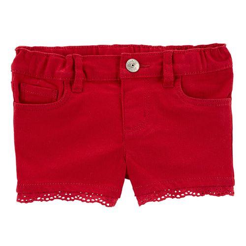 Short rojo