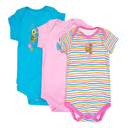 3 pack bodysuits - nemo and friends