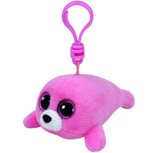 Ty beanie boos pierre foca rosa clip