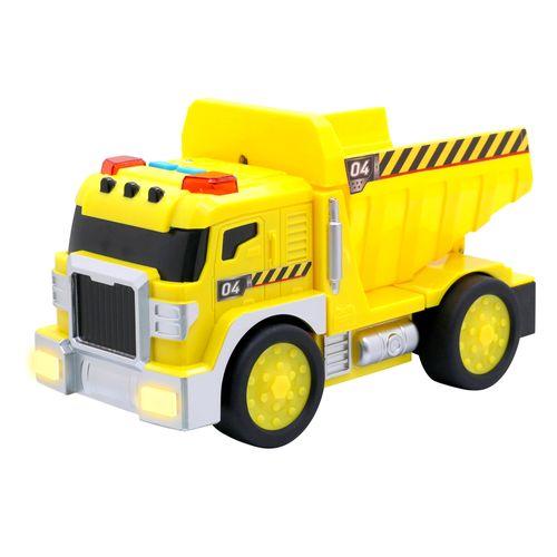 Camion bomberos construccion o camion de la basura con luz y sonido try me
