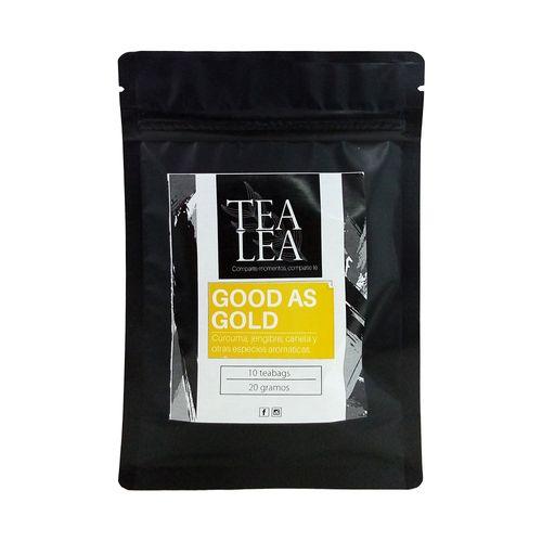Tradicional golden milk bolsas de te 10 unidades