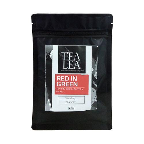 Tradicional red in green bolsas de te 10 unidades