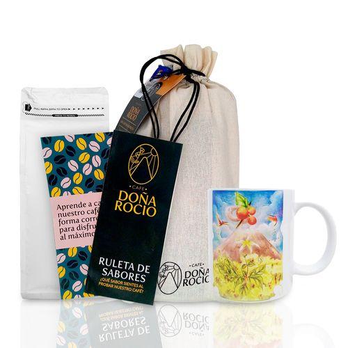 Bolsa combo de café 1lb + taza - tradicional