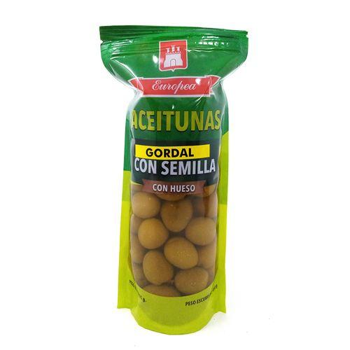 Aceituna gordal con hueso 12/ 1 lb