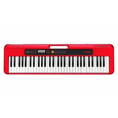 Casio Casiotone, teclado portátil de 61 teclas Rojo