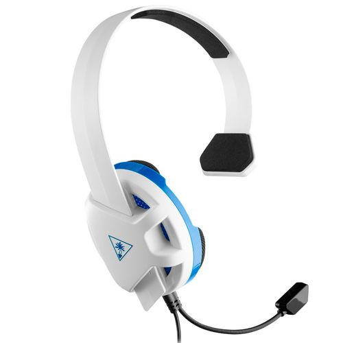 Auriculares gaming recon chat c/cable y mic para ps4 blanco