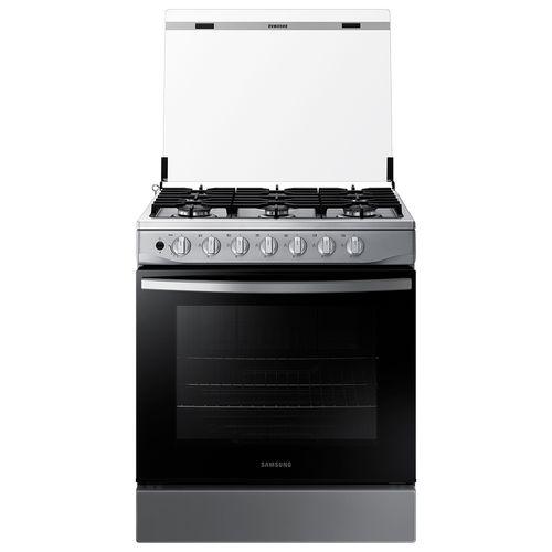 """Cocina Samsung a gas 30"""" acero inox"""