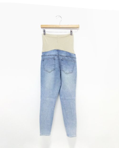 Jeans lt wash rolled cuff