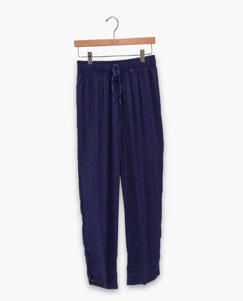 pantalon de pijama azul oscuro