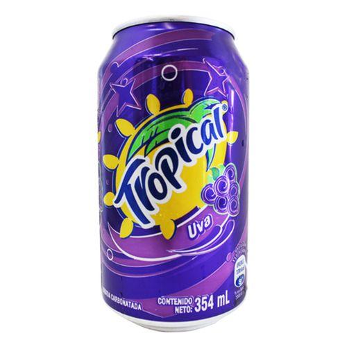 Bebida carbonatada de uva