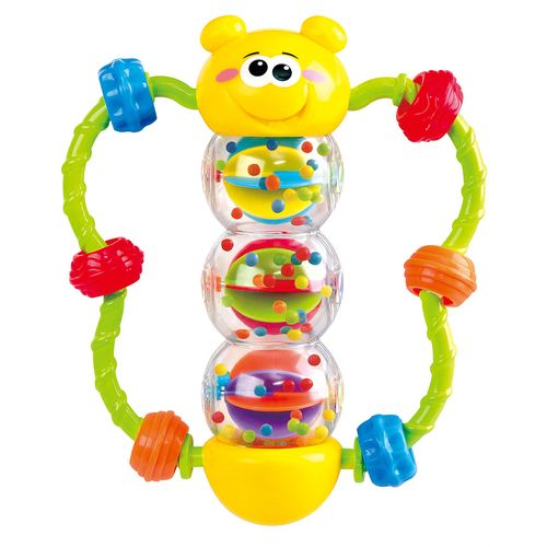 Butterfly bead rattle