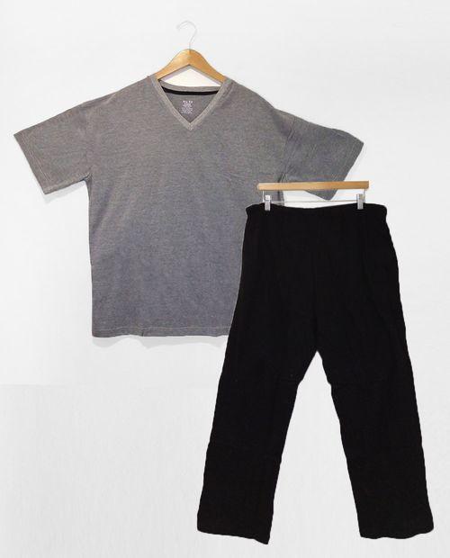 Pijama 2 piezas pantalon /camisetas solido