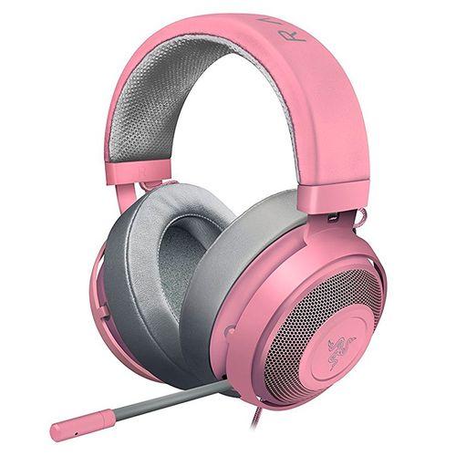 Auricular gaming Kraken edición quartz rosado