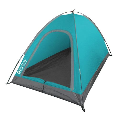Carpa ecology camper 2 per. (turquesa & gris)