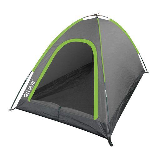 Carpa ecology camper 4 per. (gris oscuro & verde)