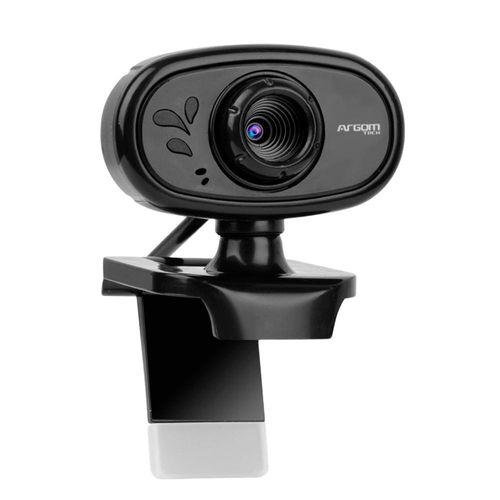 Webcam HD 720P con micrófono negra