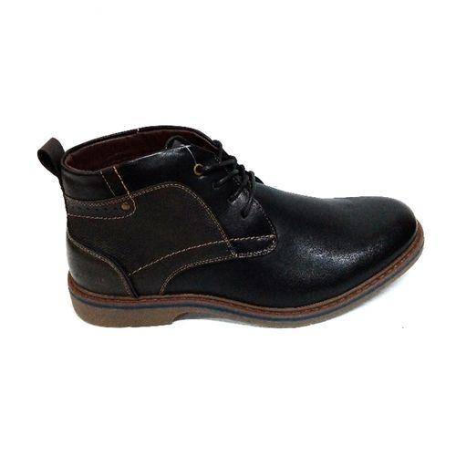 Bota casual Newhall para caballero color negro