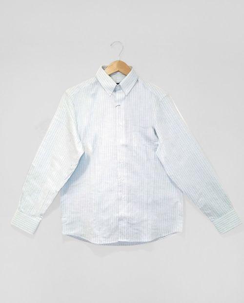 Camisa  rayas menta con blanco