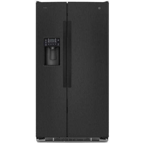 Refrigeradora G.E 26 pies black stainless steel