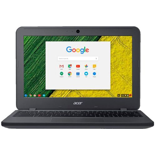 "Laptop Acer chromebook Intel N3060 negra 11"""
