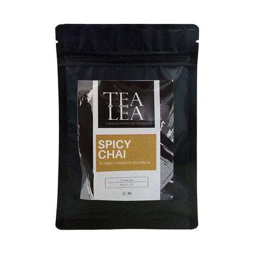 Kit moderna spicy chai infusor + 1 oz de te en hoja suelta