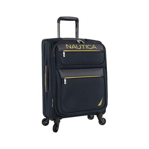 Maleta nautica cargo  bay colecction med navy/green/yellow