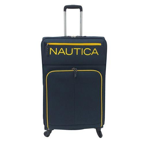 Maleta nautica montrose collection gde navy/yellow