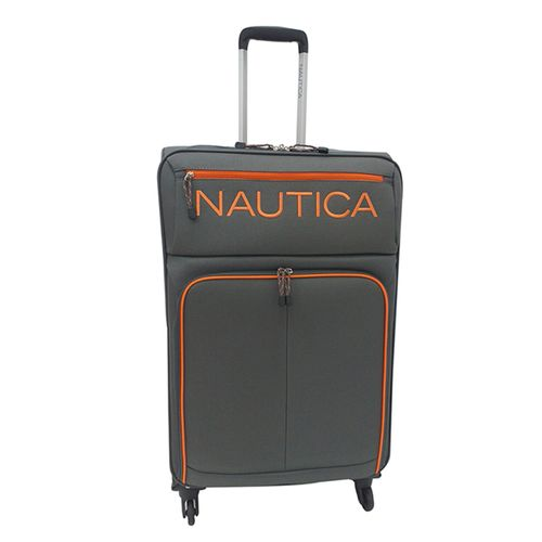 Maleta nautica montrose collection gde grey/orange
