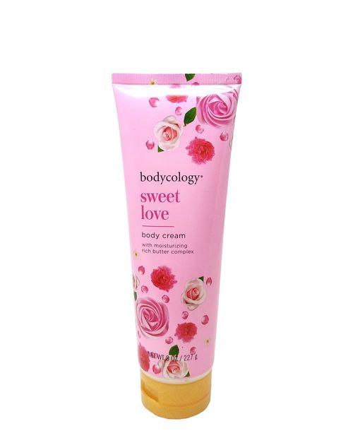 Body Cream Sweet Love 8oz