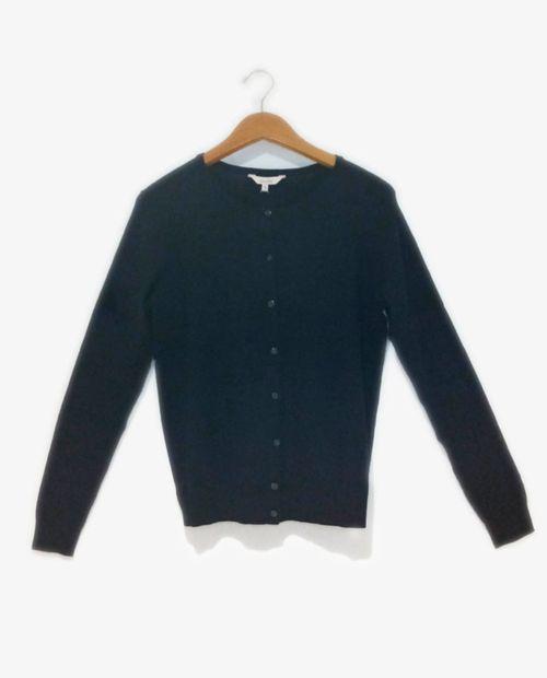 Cardigan basico black v 128