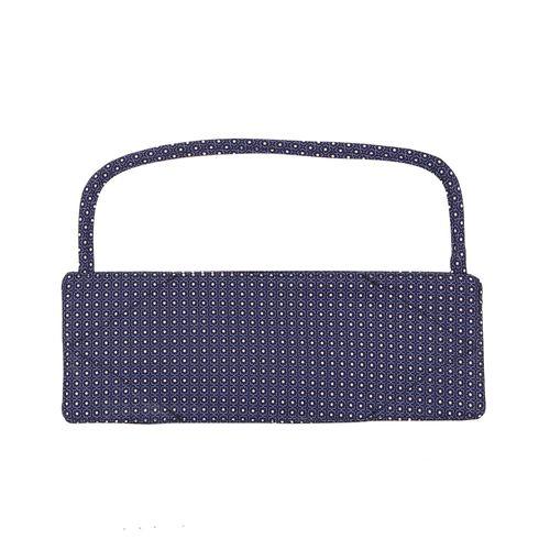 Cubreboca de tela con visor de proteccion print circulos