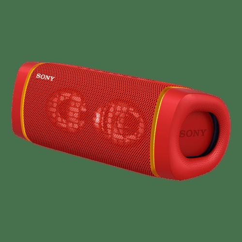 Bocina XB33 inalámbrica con extra bass color roja