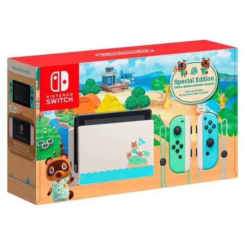 Nintendo switch 32gb edición animal crossing