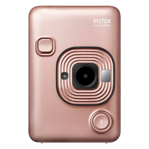 Cámara fujifilm instax mini liplay rosa
