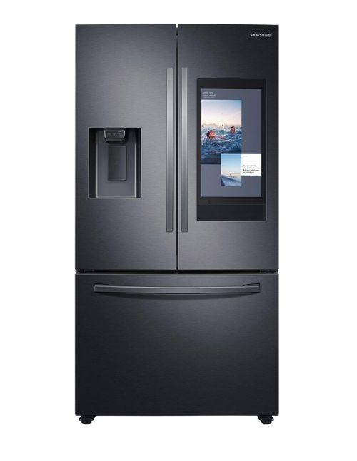 Refrigeradora frech door 26PCU black steel