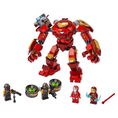 Anti-Hulk de Iron Man vs. Agente de A.I.M.
