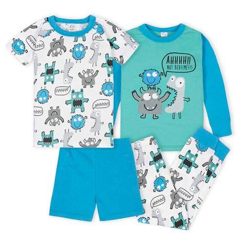 4 piezas pijamas mounster