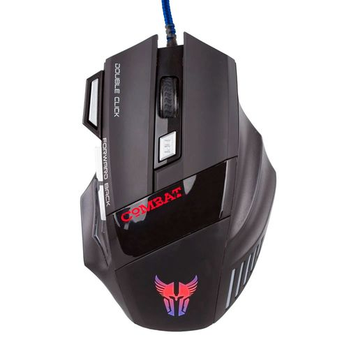 Mouse gaming combat ms41 usb negro