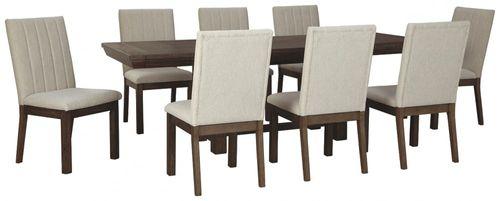 Comedor 8 persona rectangular mesa extensible