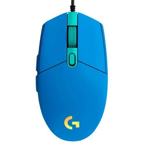 Mouse gaming G203 lightsync azul