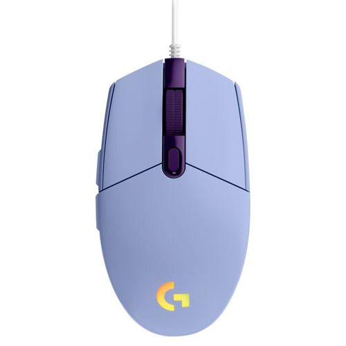 Mouse gaming G203 lightsync violeta