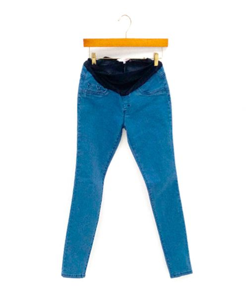 Jean tobillero c/valencina azul claro