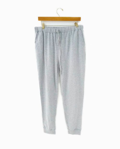 French terry jogger pants gris